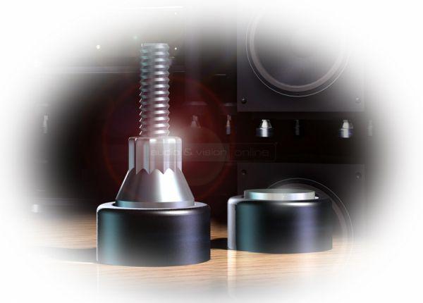 Soundcare SuperSikes 00101 és 00201 hifi készülék és hangfal alátét