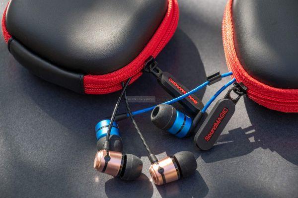 SoundMAGIC E50 és E80 fülhallgató