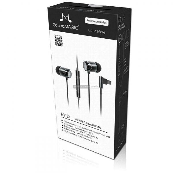 SoundMAGIC E11D fülhallgató doboz