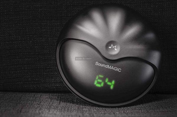 SoundMAGIC TWS50 True Wireless Bluetooth fülhallgató dokkoló kijelző