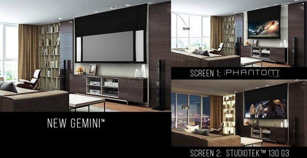 Stewart FilmScreen Gemini házimozi vetítővászon