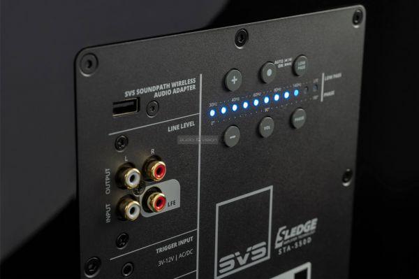 SVS 2000 Pro mélyláda Amp