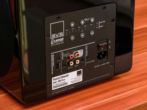 SVS 3000 Micro aktív mélyláda hátlap