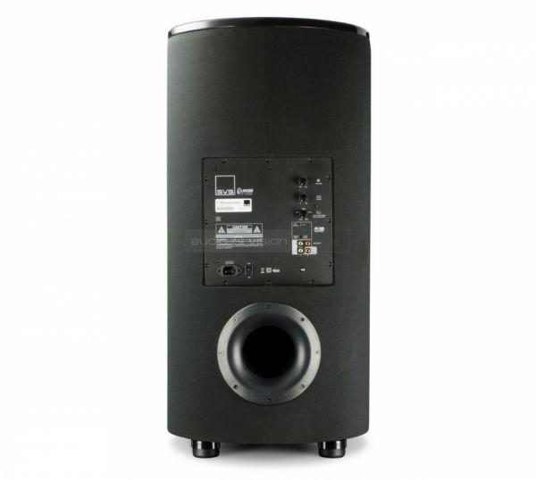SVS PC-2000 aktív mélyláda teszt hátfal  SVS PC-2000 aktív mélyláda teszt SVS PC 2000 back