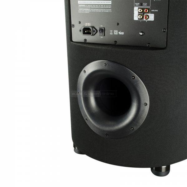 SVS PC-2000 aktív mélyláda teszt reflex nyílás  SVS PC-2000 aktív mélyláda teszt SVS PC 2000 reflex port