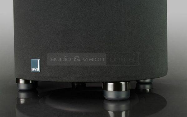 SVS PC-2000 aktív mélyláda teszt rezgéselnyelő talp  SVS PC-2000 aktív mélyláda teszt SVS PC 2000 talp