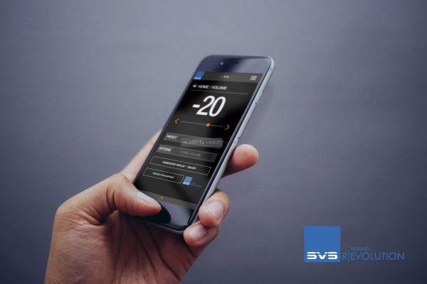 SVS SB-1000 Pro aktív mélyláda App