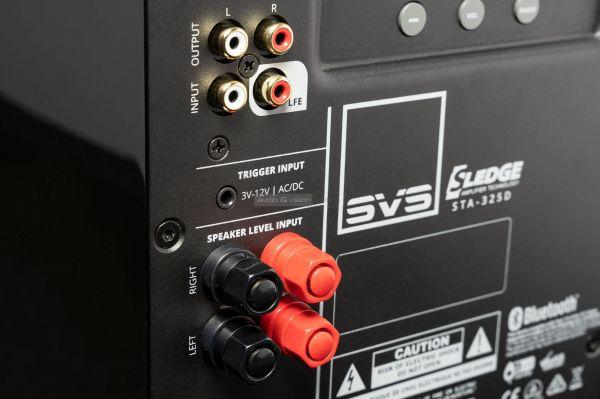 SVS SB-1000 Pro aktív mélyláda hátlap