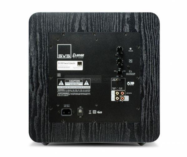 SVS SB-2000 aktív mélyláda hátfal