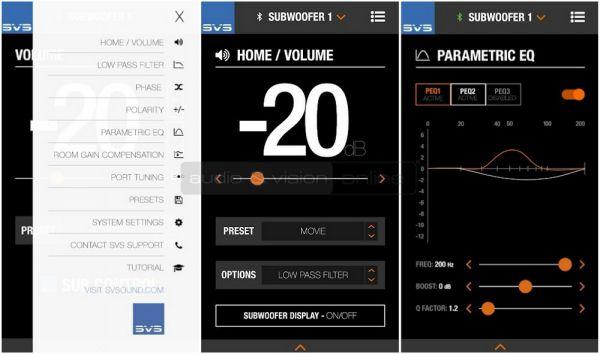 SVS SB-4000 mélyláda App