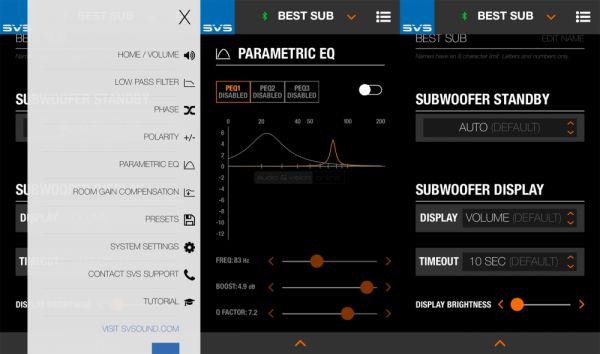 SVS SB16-Ultra App