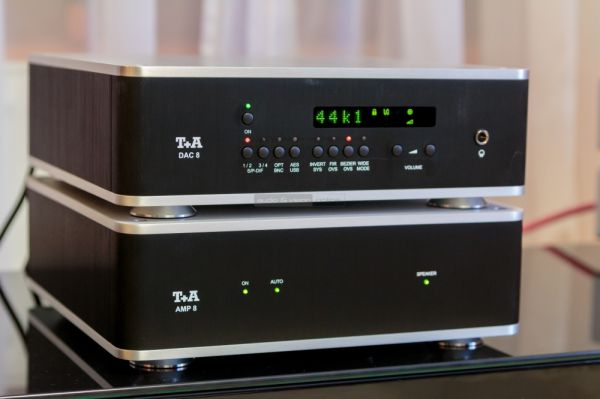 T+A AMP 8 és DAC 8