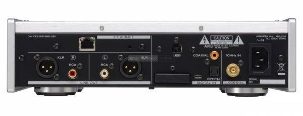 TEAC NT-505 hálózati zenelejátszó hátlap