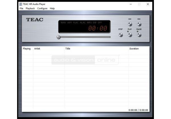 TEAC HR Audio Player