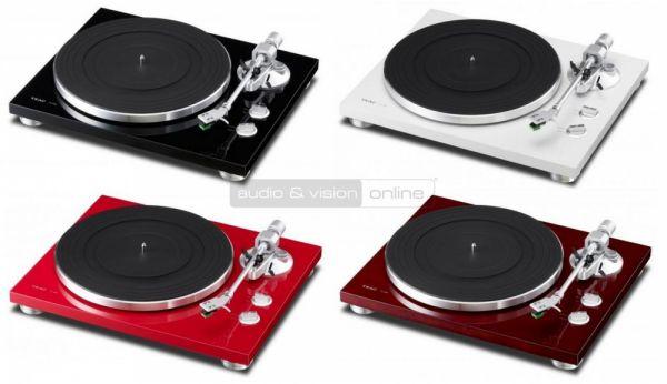 TEAC TN-300 vinyl lemezjátszó színek