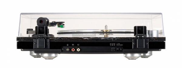 TEAC TN-550 vinyl lemezjátszó hátlap