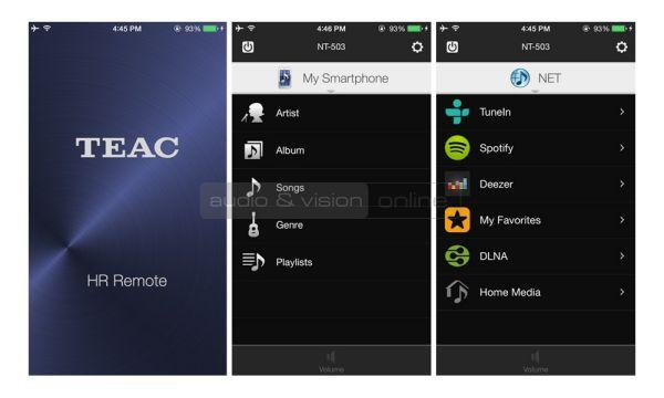 TEAC HR Remote App