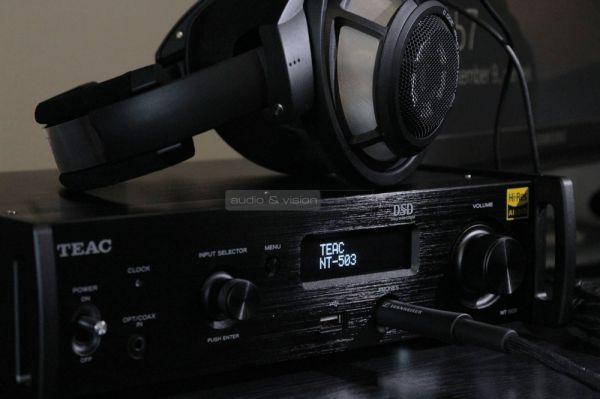 TEAC NT-503 hálózati médialejátszó és USB DAC