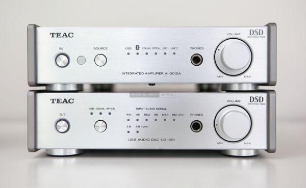 TEAC UD-301 DAC és AI-301DA