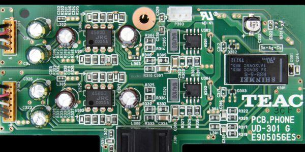 TEAC UD-301 belső