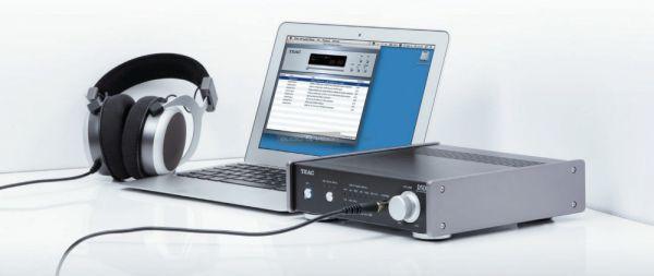 TEAC UD-301 DAC és fejhallgató erősítő