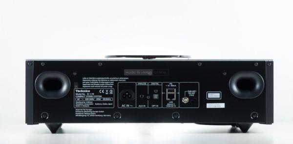 Technics OTTAVA f SC-C70 hifi rendszer hátlap