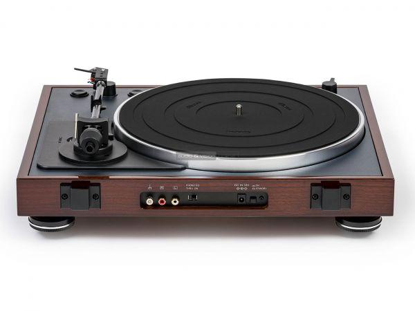 Thorens TD 102 A vinyl lemezjátszó hátlap