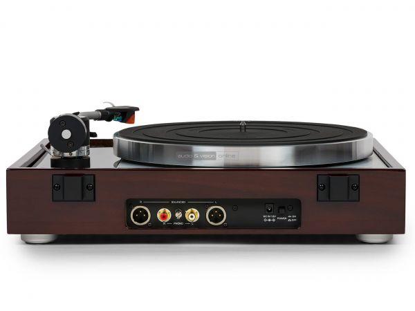 Thorens TD 1500 vinyl lemezjátszó hátlap