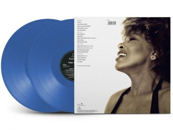Tina Turner Simply the Best blue vinyl