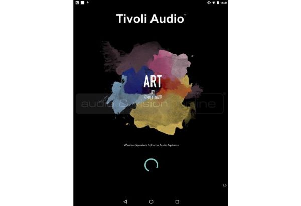 Tivoli Audio ART App iPad