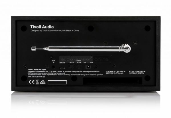 Tivoli Audio Model One Digital hátlap