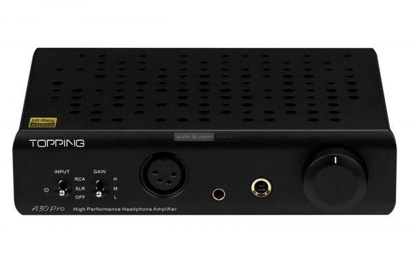 Topping A30 Pro fejhallgató erősítő