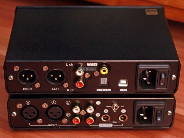 Topping D30 Pro DAC A30 Pro fejhallgató erősítő hátlap