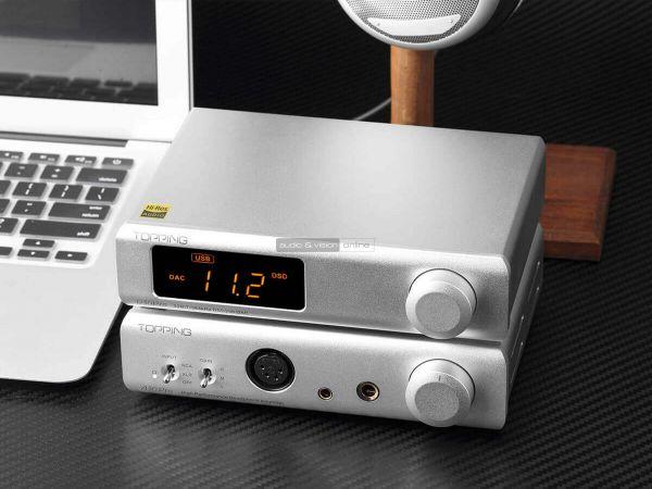 Topping D30 Pro DAC A30 Pro fejhallgató erősítő