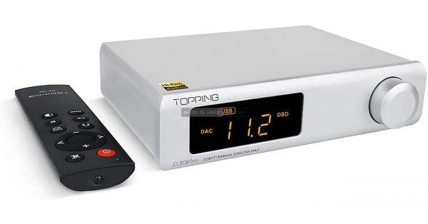 Topping D30 Pro DAC távvezérlő