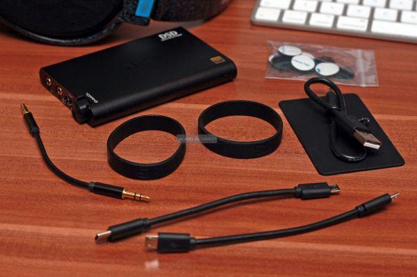 Topping NX4 DSD USB DAC tartozékok