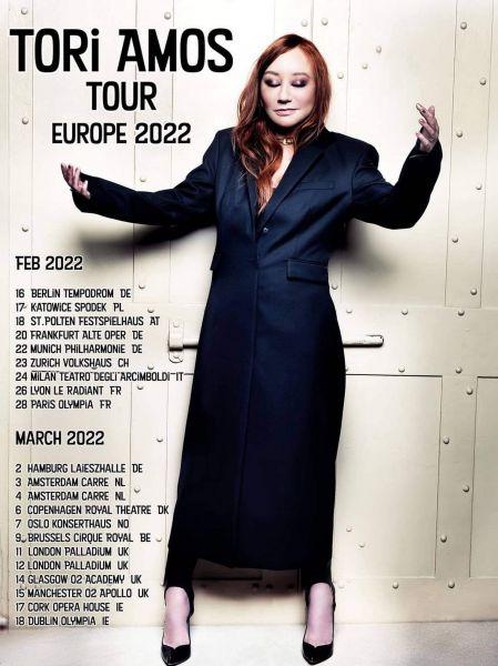 Tori Amos 2022 európai turné