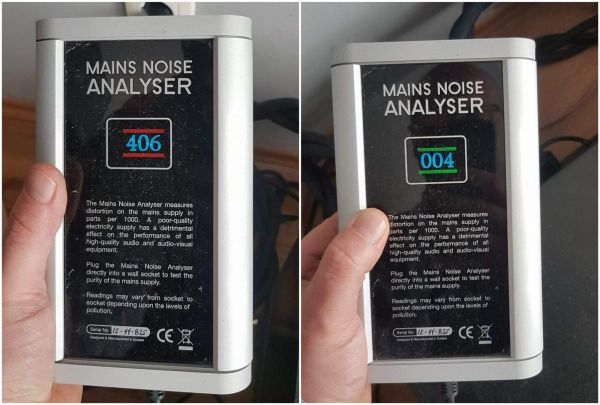 Torus Power TOT MAX tápszűrő mérés