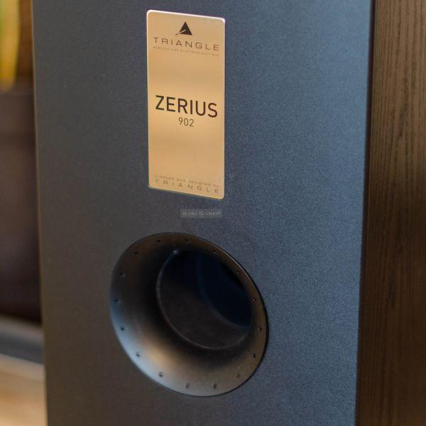 Triangle Zerius 902 hangfal basszreflex nyílás