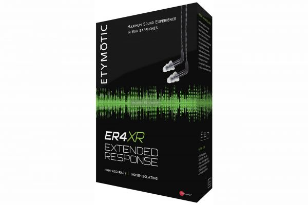 Etymotic ER4XR fülhallgató doboz