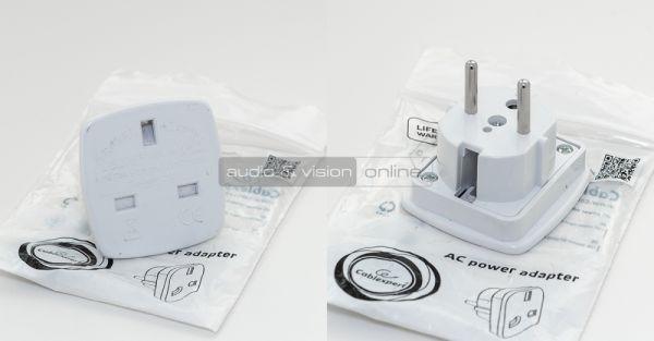 Cablexpert Schuko G adapter