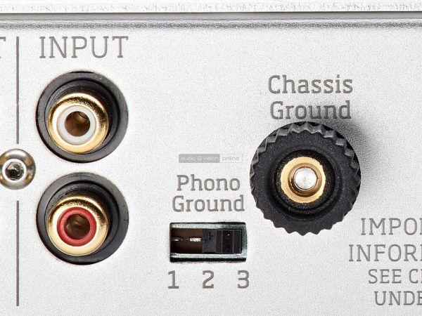Vertere PHONO-1 MkII phono előerősítő hátlap