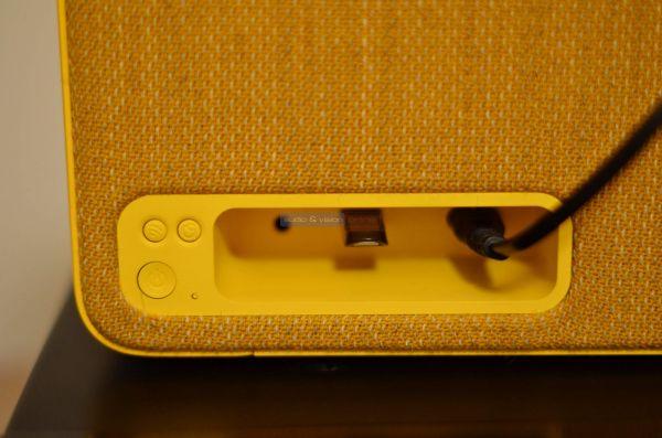 Vifa Stockholm 2.0 Bluetooth hangszóró hátlap