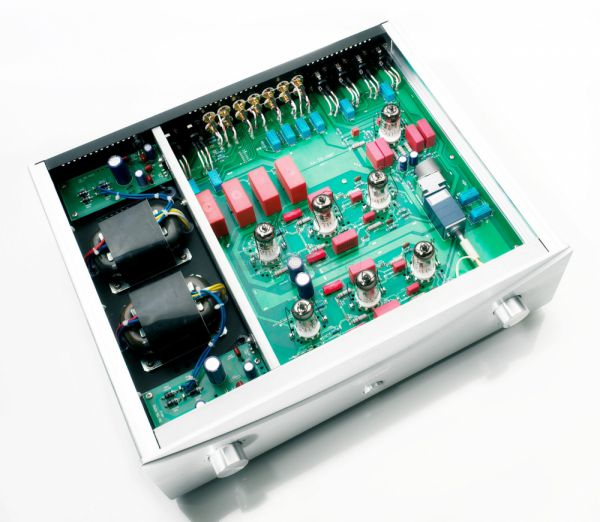 Vincent Audio SA-T8 elektroncsöves előfok belső