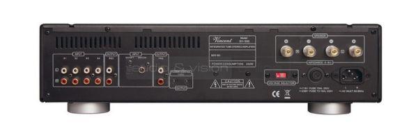 Vincent Audio SV-500 hibrid sztereó erősítő hátlap