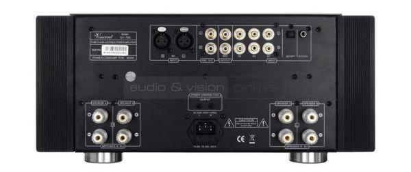 Vincent Audio SV-700 sztereó végfok hátfal