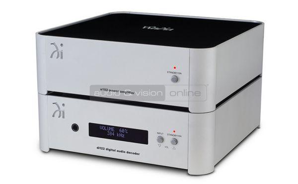 Wadia di122 digital audio decoder és a102 sztereó végfok