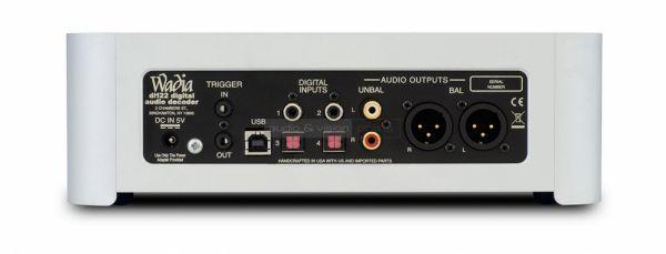 Wadia di122 digital audio decoder hátlap