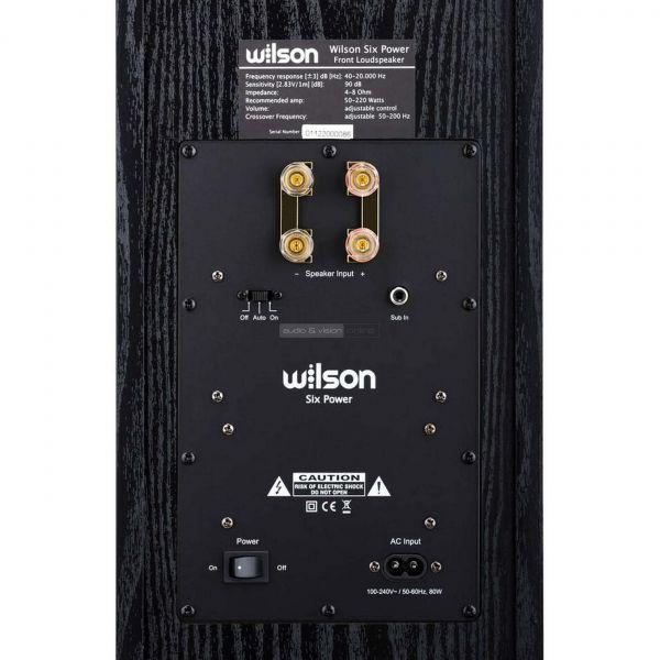 Wilson Six Power hangfal csatlakozó