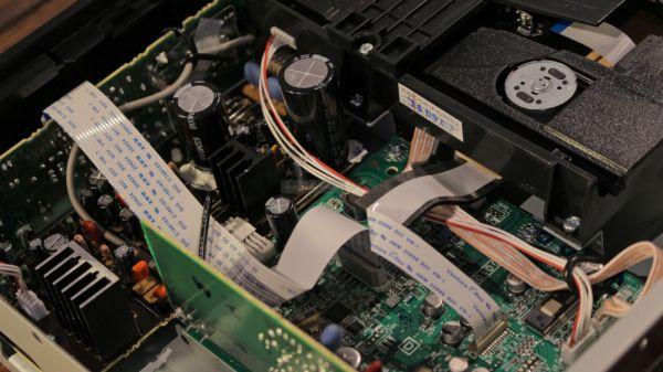 Yamaha CD-S300 CD-lejátszó belső